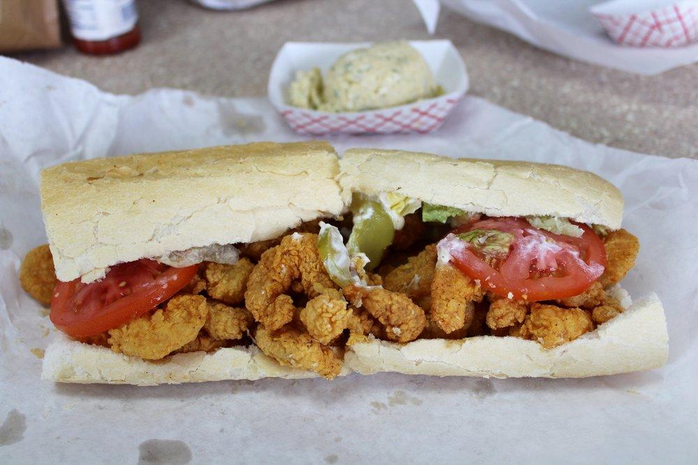 Shrimp Poboy in New Orleans