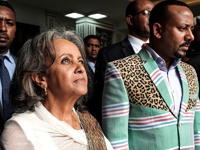 Sahle-Work Zewde recently became the first female president of Ethiopia, one of two African nations never colonized. 🇪🇹 • • • #YouAreBlackGold #SahleWorkZewde #Ethiopia #Africa #news #BlackGirlMagic #BlackGirlsRock #BlackWomen #BlackExcellence #BlackHistory #AfricanHistory #blackdiaspora #africandiaspora