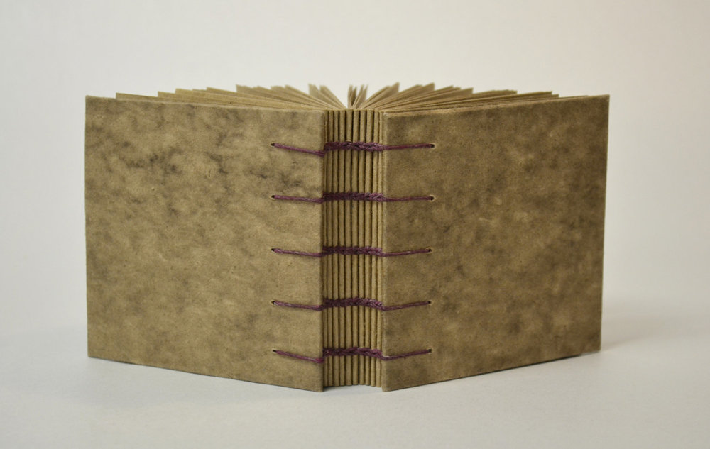 square brown book