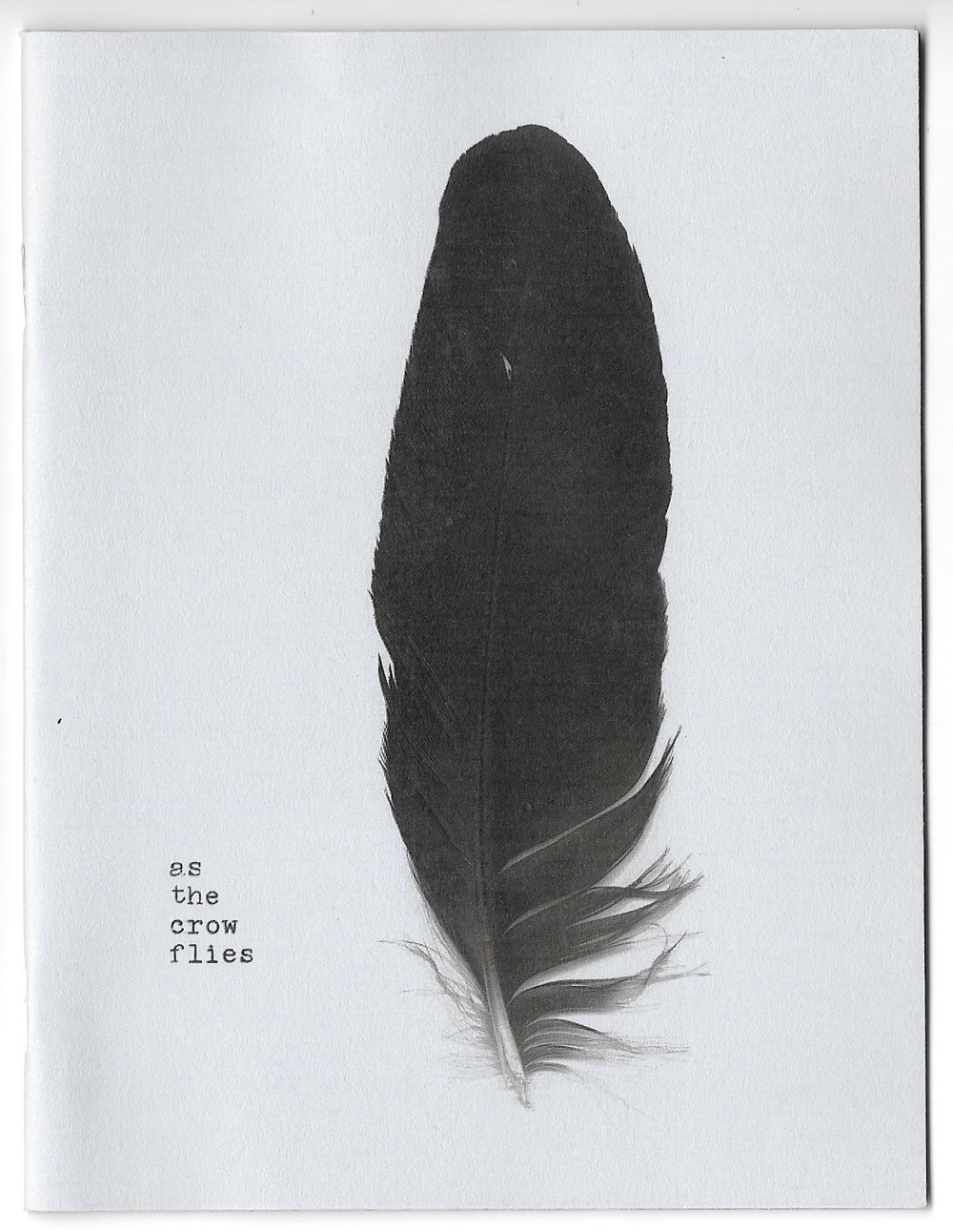 as the crow flies (zine version)