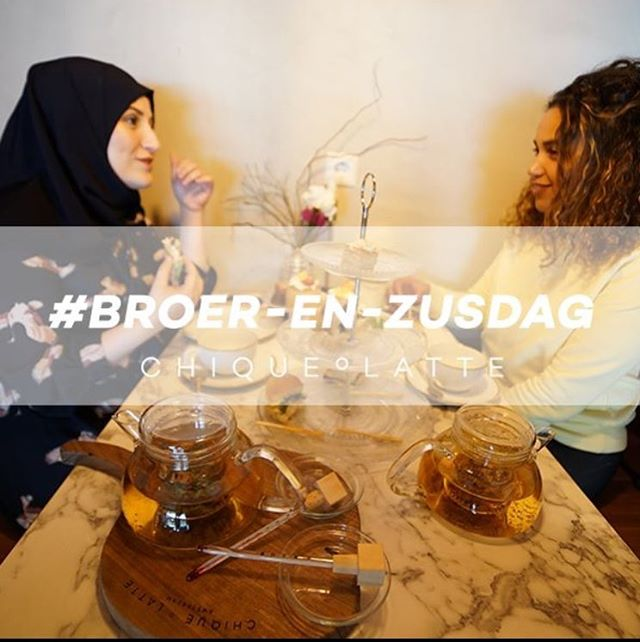Round up your sibling(s)! There is no better reason to have a delicious HIGH CHOCOLATE than today. ;) #broerenzusdag #chiqueºhightea #plein4045 #amsterdam  Reserve a table with a direct message.  Soon we're going to open our doors in Utrecht!