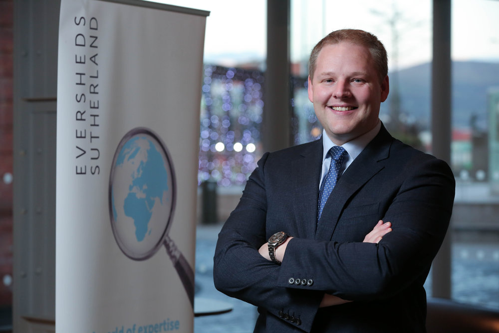 Gareth Planck, Partner at the Belfast office of Eversheds Sutherland