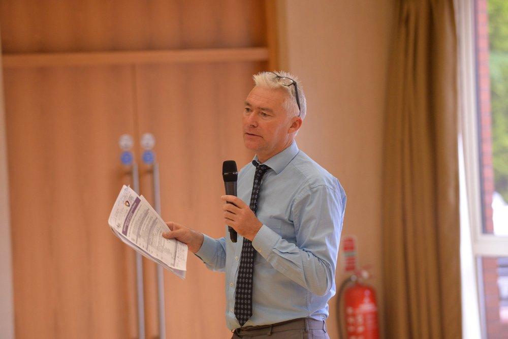 NILGA Chief Executive, Derek McCallan