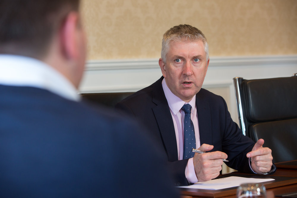 Community Pharmacy seeks urgent support: Gerard Greene, Chief Executive of Community Pharmacy NI.