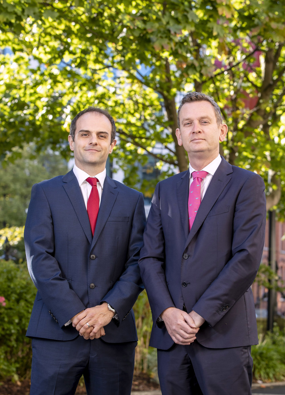 Photo:  (From Left to Right) Matthew Howse (Partner, Eversheds Sutherland) and Alan Murphy (Managing Partner, Eversheds Sutherland).