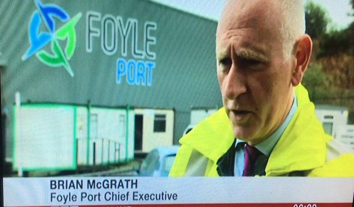 Brian McGrath, Chief Executive, Foyle Port