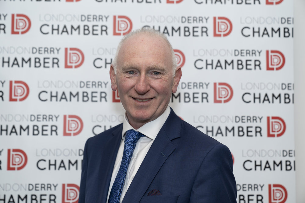 Brian McGrath takes over as the new President of the Londonderry Chamber of Commerce.