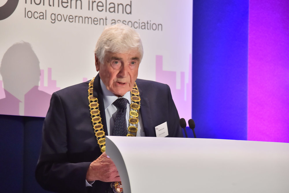 Councillor Dermot Curran, President of NILGA