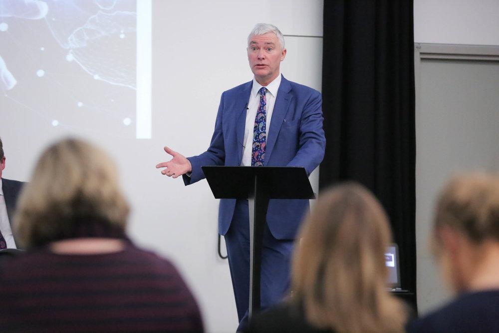 Derek McCallan, Chief Executive of NILGA