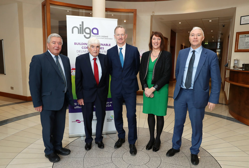 Last week a cross party delegation from NILGA met with John Penrose MP, Minister of State for Northern Ireland.