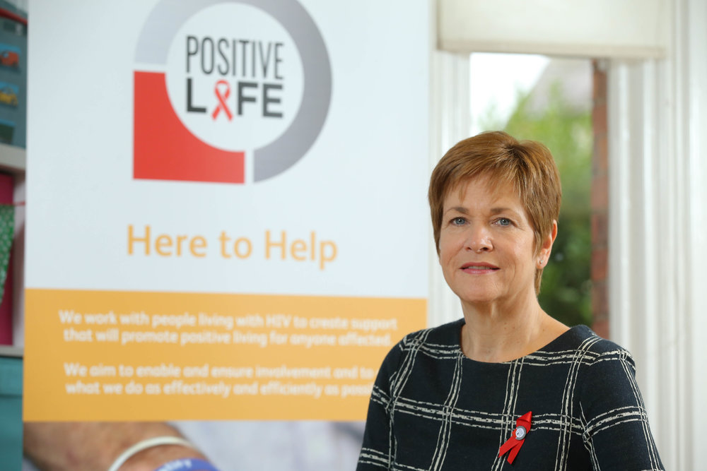 CEO of Positive Life, Jacquie Richardson