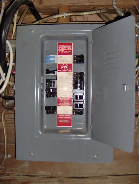 200 amp federal pacific fuse box