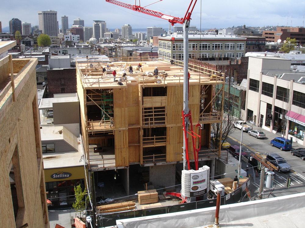 Agnes Lofts Construction
