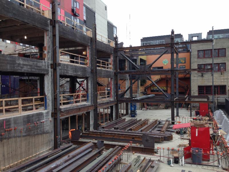 Chophouse Row Construction