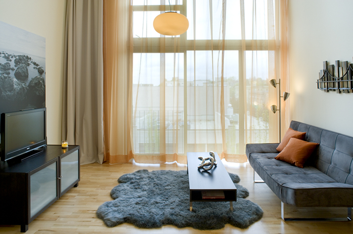 4th Floor Loft Living Area