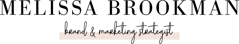 Melissa Brookman | Atlanta Brand & Marketing Strategist