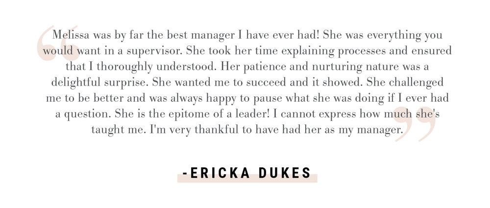 Ericka Dukes