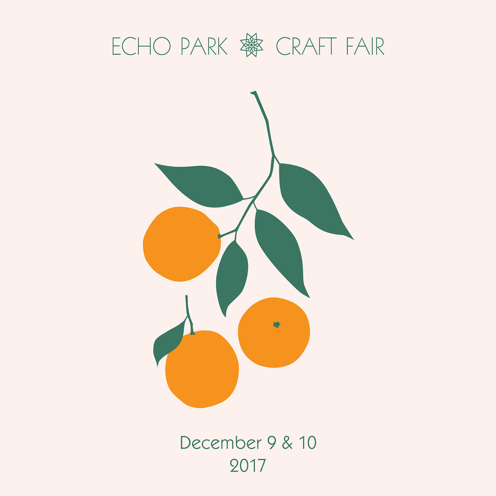 12/9/17 & 12/10/17 @ ECHO PARK CRAFT FAIR, LA •CALIFORNIA