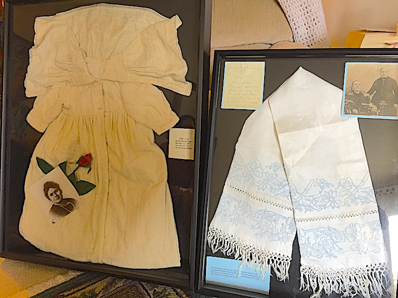 Family items from Alice Buckley's ancestors still have a cherished spot in her residence.