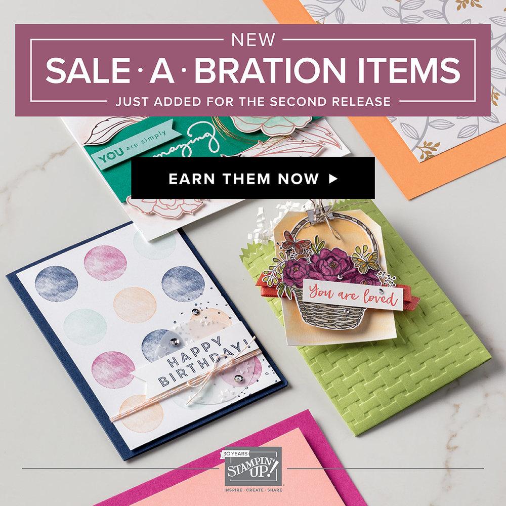 Sale-A-Bration Catalog Inkredible Techniques