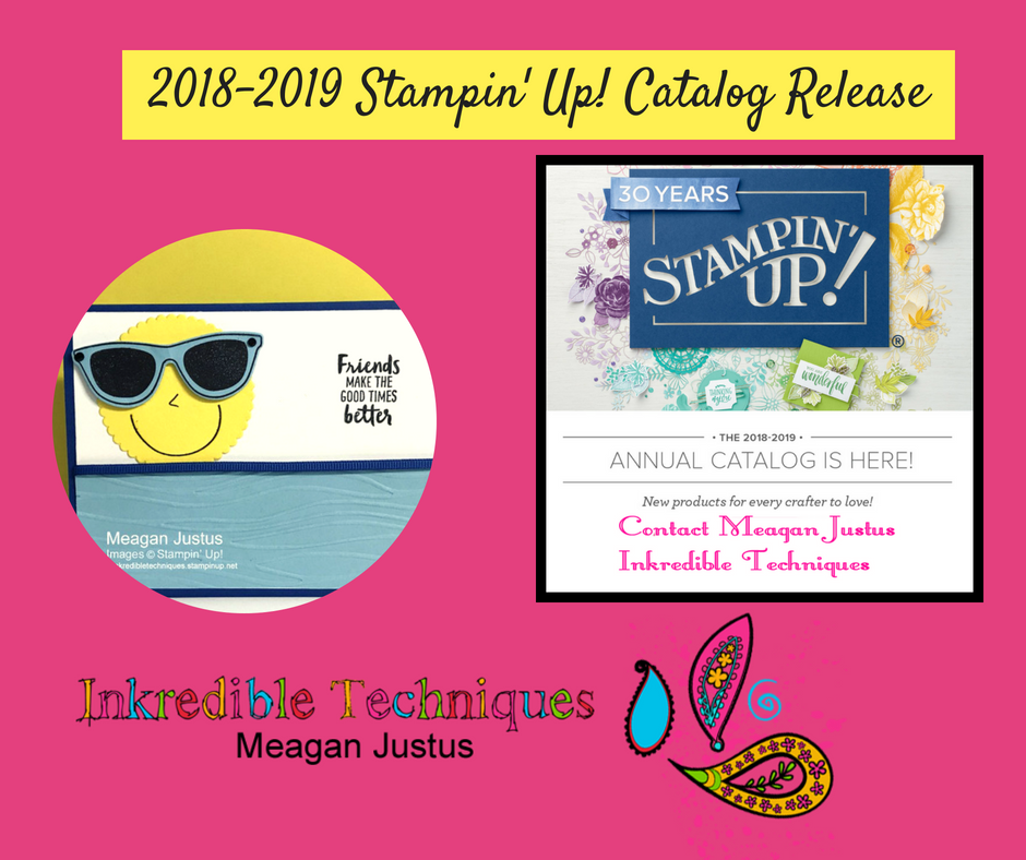 Inkredible techniques i card tutorials i richmond virginia stampin up 2018 catalog release with pocketful m4hsunfo