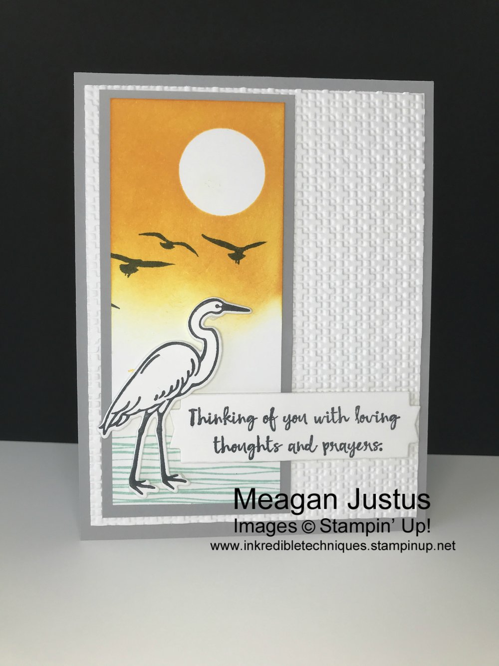 Quick Handmade Sympathy or All Occasion Card