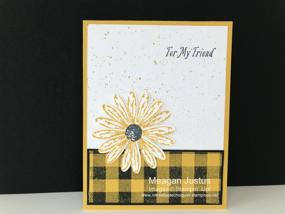 Stampin Up Daisy Delight Greeting Card