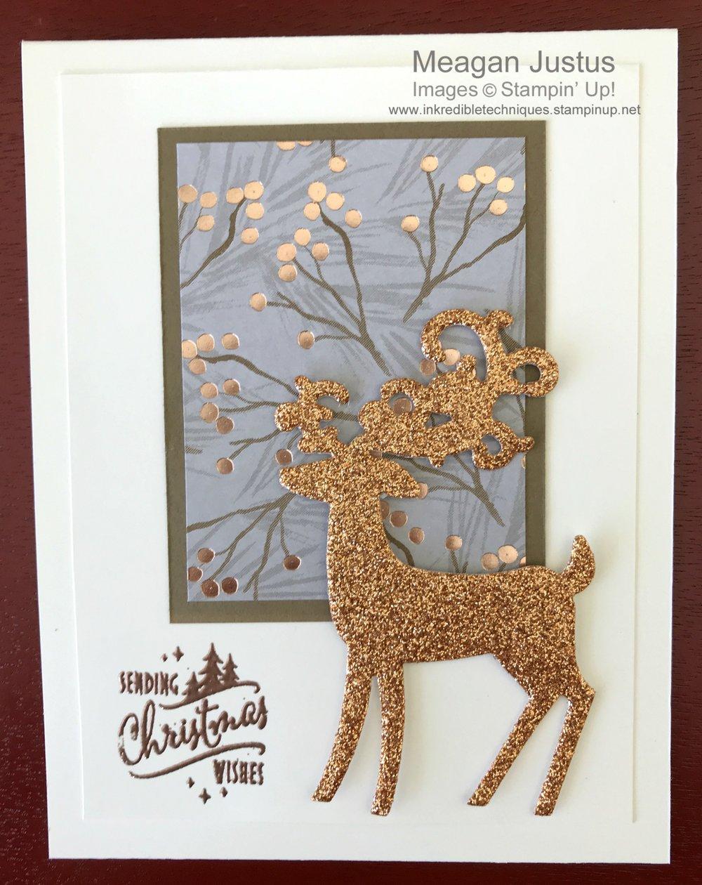 DIY 5 Minute Christmas Card