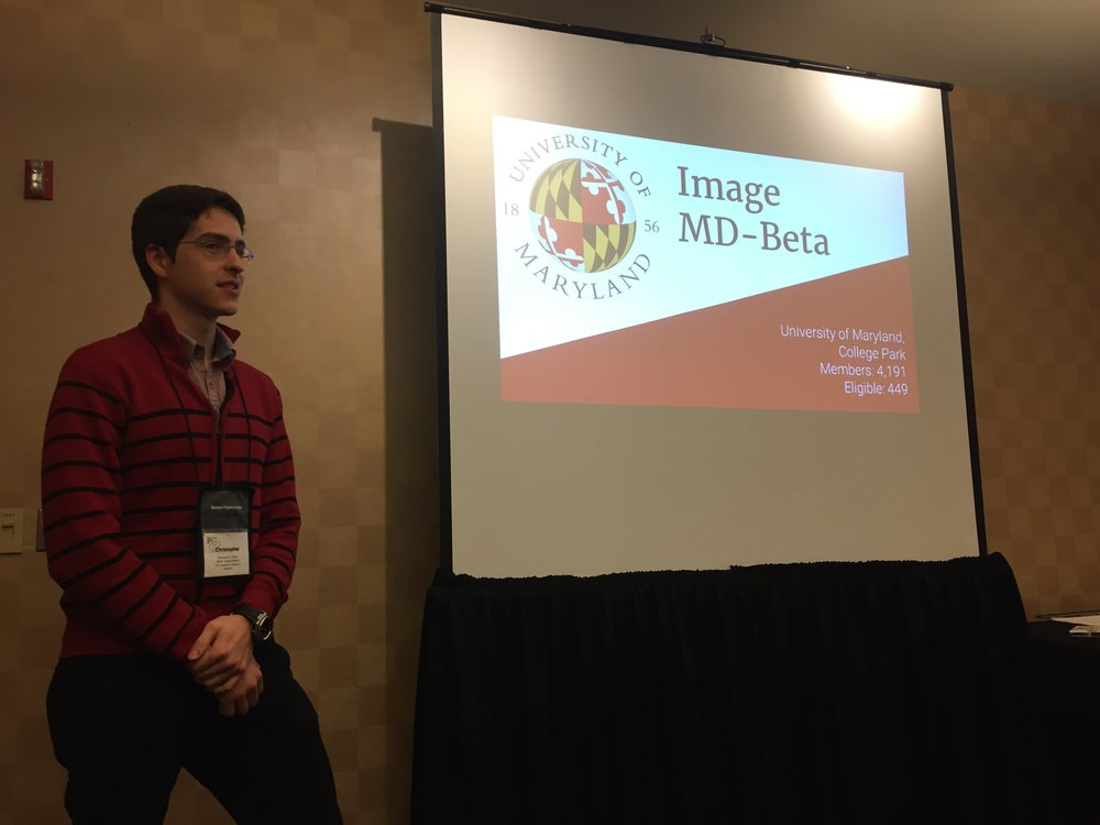 Chris Strem Presenting at Convention 2017