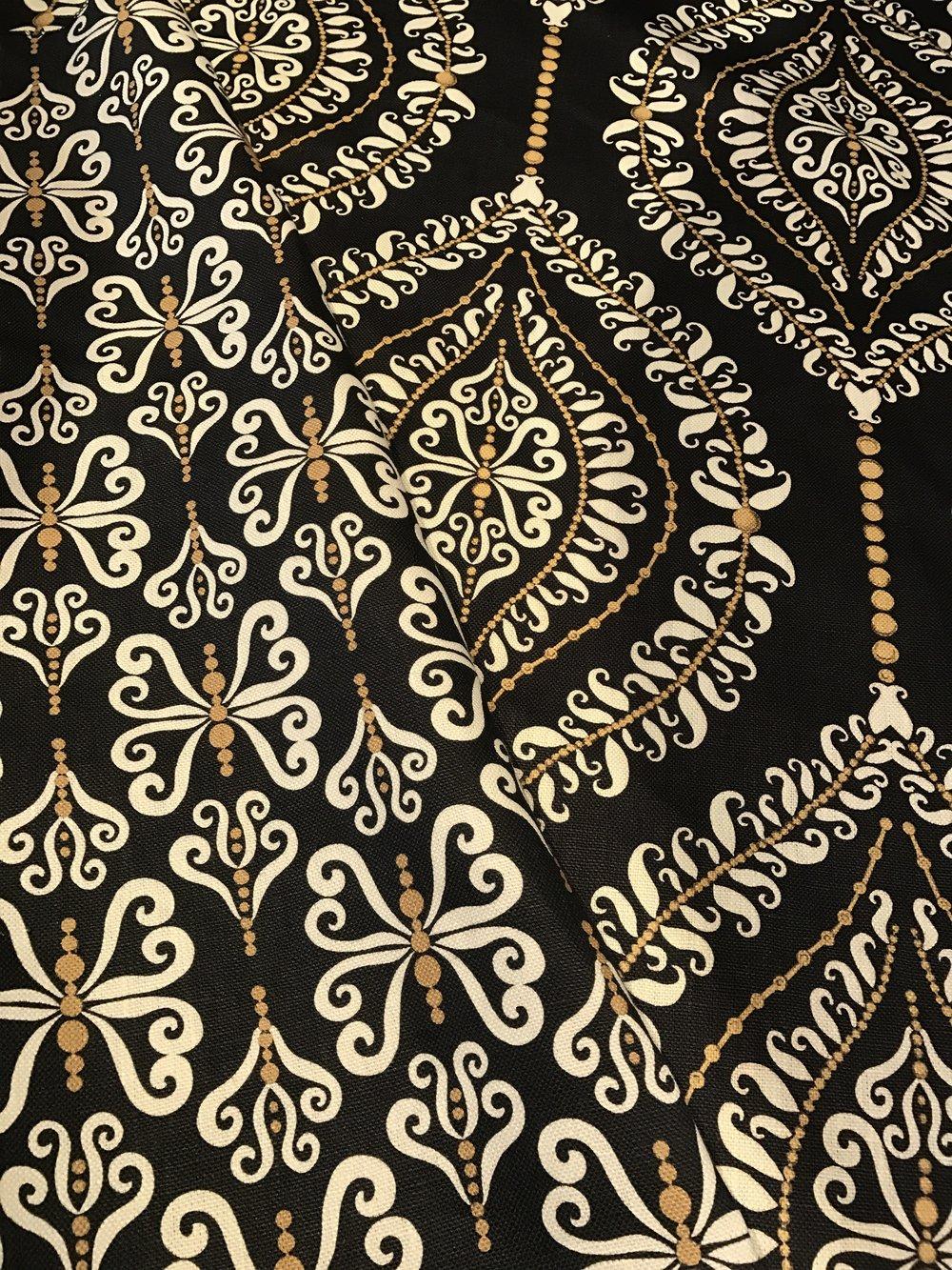 Curls & Pearls / Butterfly Curls fabrics