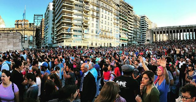 Day of #Pentecost Taking the city gate for Christ! #Argentina #Rosario #Awakening #Latergram
