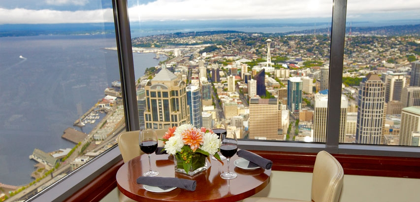 Columbia Tower Club - 701 Fifth Avenue, 75th Floor | Seattle, WA 98104