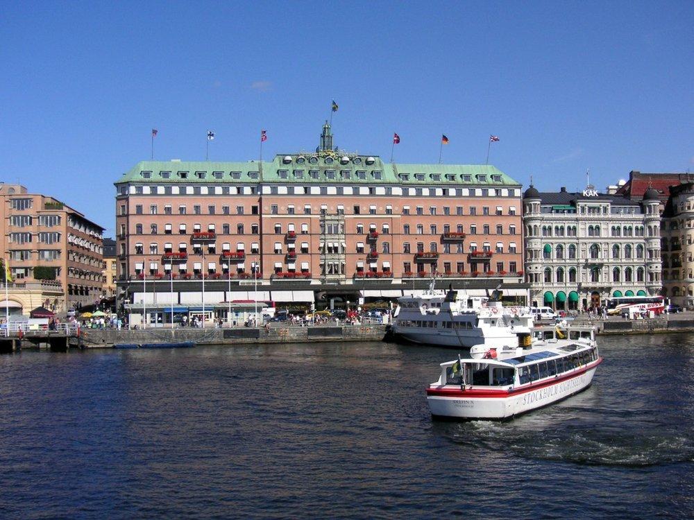 Grand Hotel Stockholm - Södra Blasieholmshamnen 8, 103 27 Stockholm, Sweden