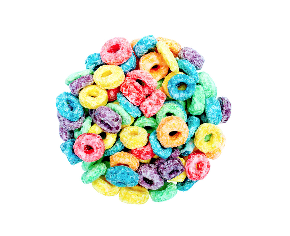 I LOVE FRUIT LOOPS