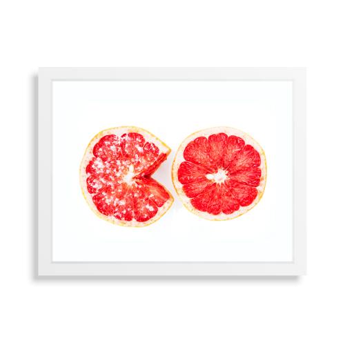 white frame only