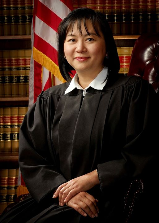 A 2010 portrait of Judge Jacqueline Nguyen released by the U.S. District Court for the Central District of California | AP