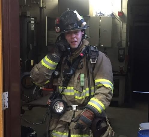 "Firefighter    Chris ""Puzz"" Puzzanghero"