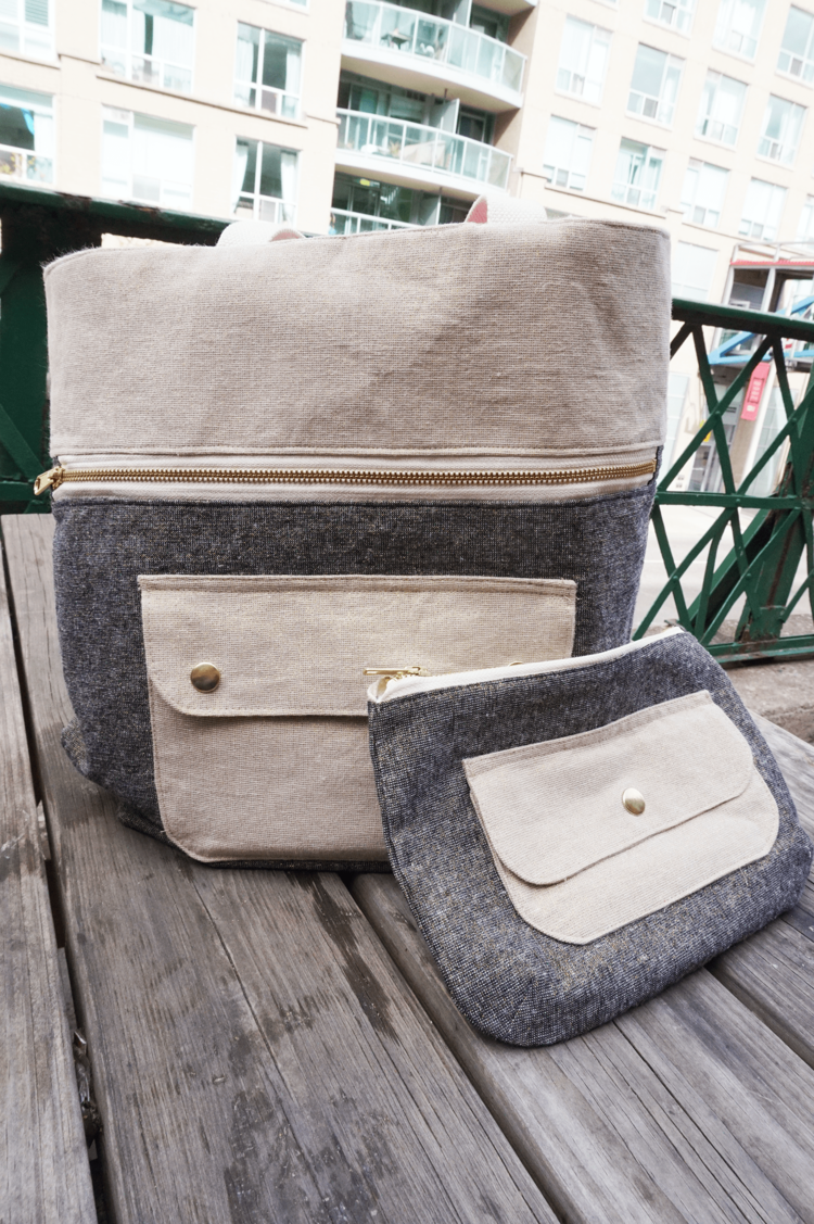 My Caravan Tote Plus What I Learned While Bag Making — Passion and Pins