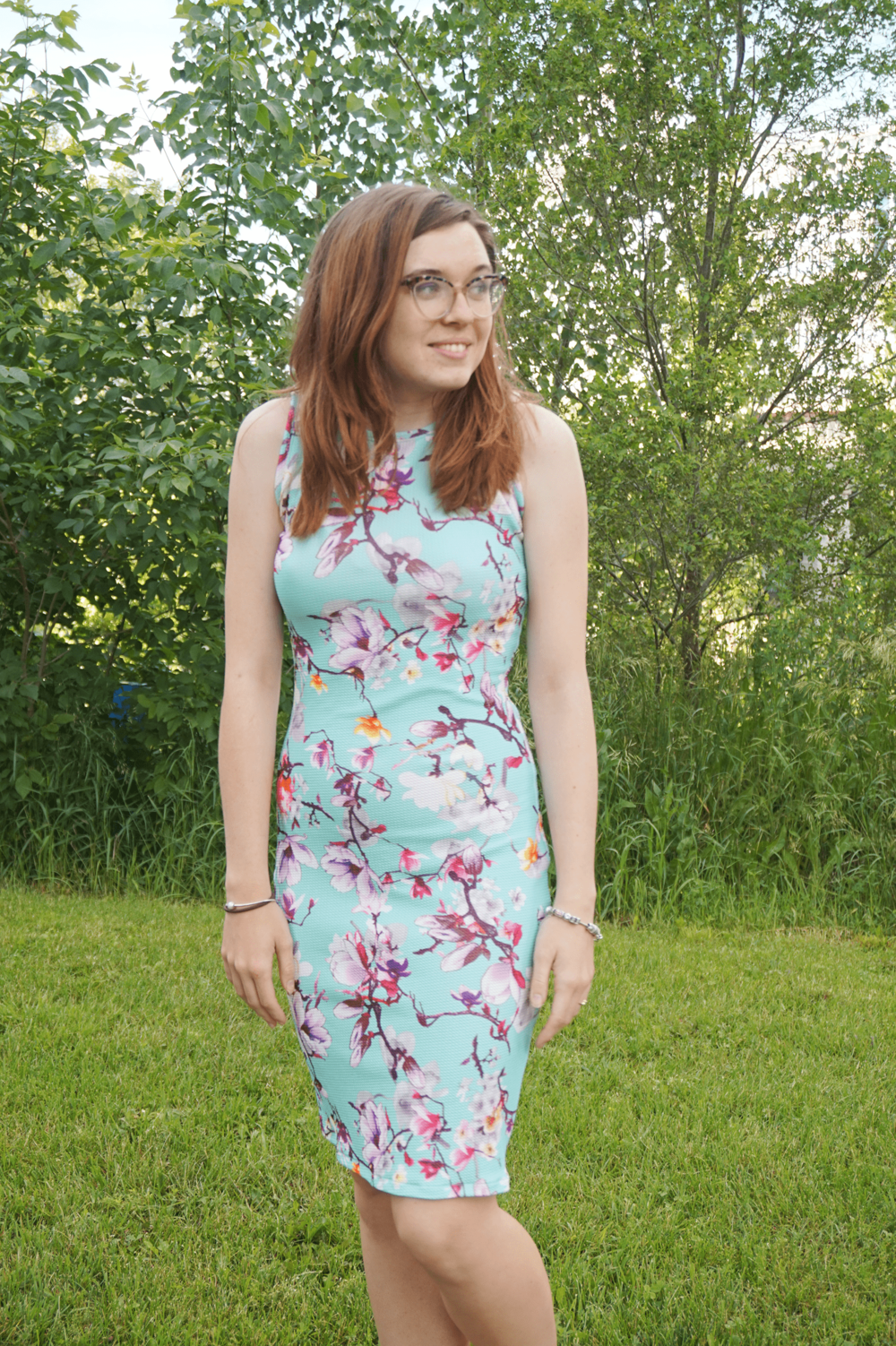 Cherry Blossom Nettie Dress