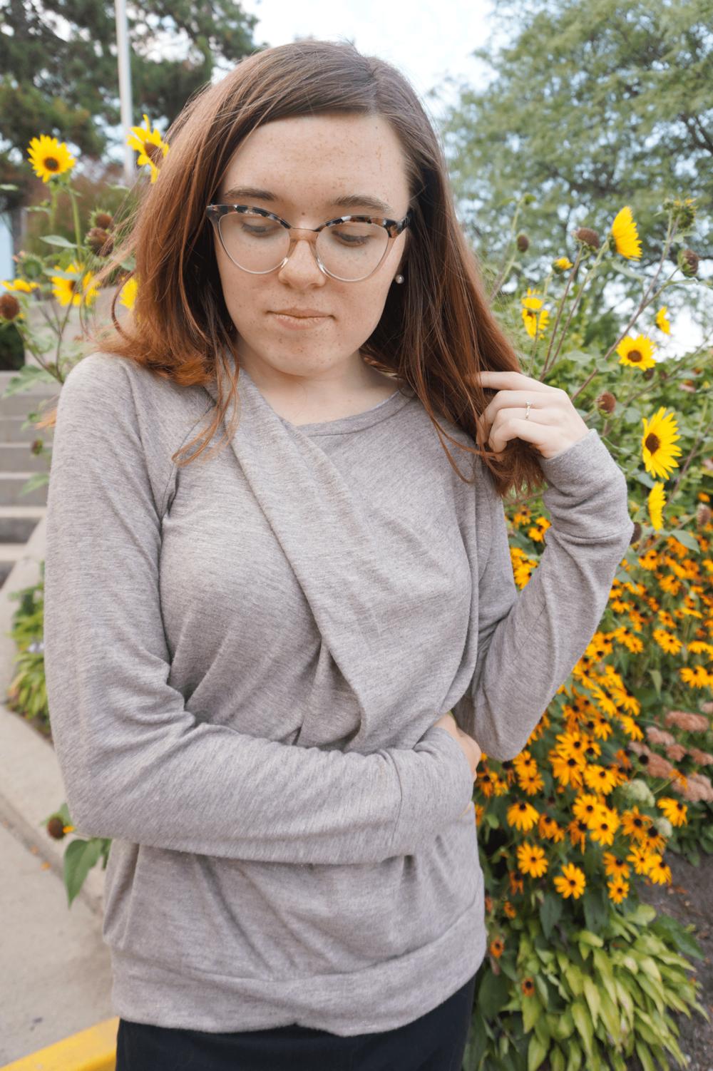 Bowline Sweater by Papercut Patterns