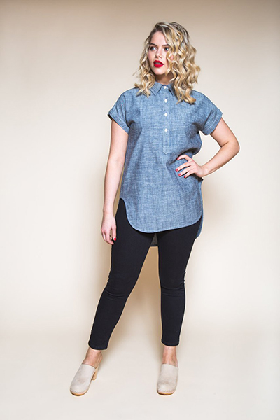 Kalle Shirt by Closet Case Patterns
