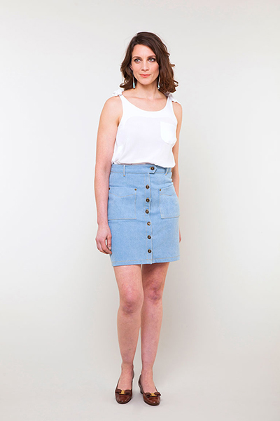 Leonora Skirt by Seamwork Magazine