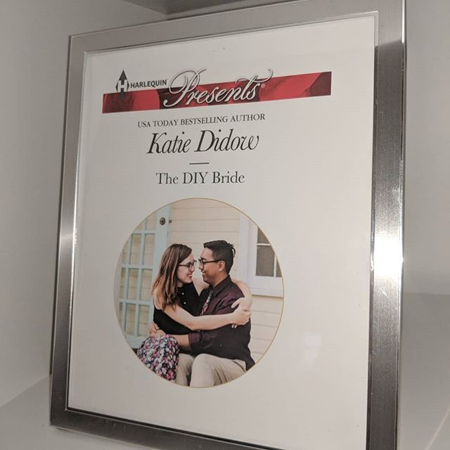 Love my day job and this super unique wedding gift! 💖