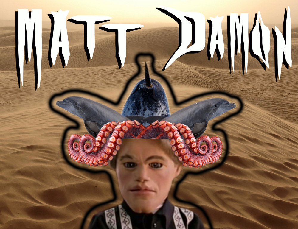 Matt Damon: Empathy, intellect and quiet charisma.