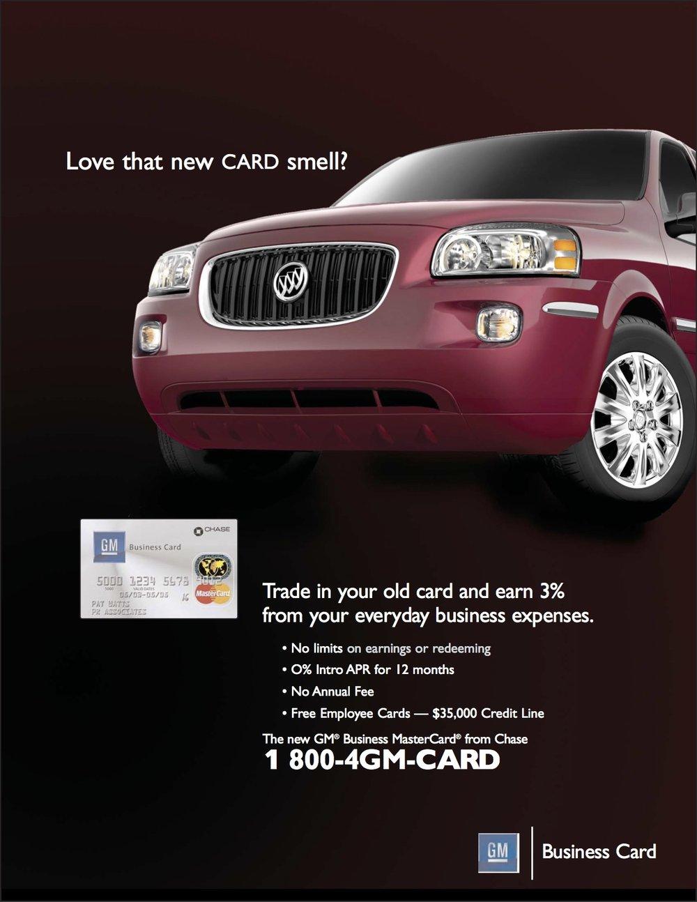 Credit Cards — Mike Doran | Creative Director & Copywriter