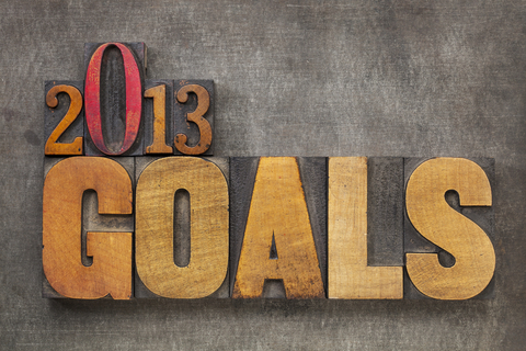 2013 goals and beyond