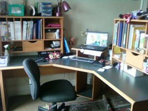 my clean desk