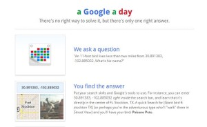 A Google a Day game