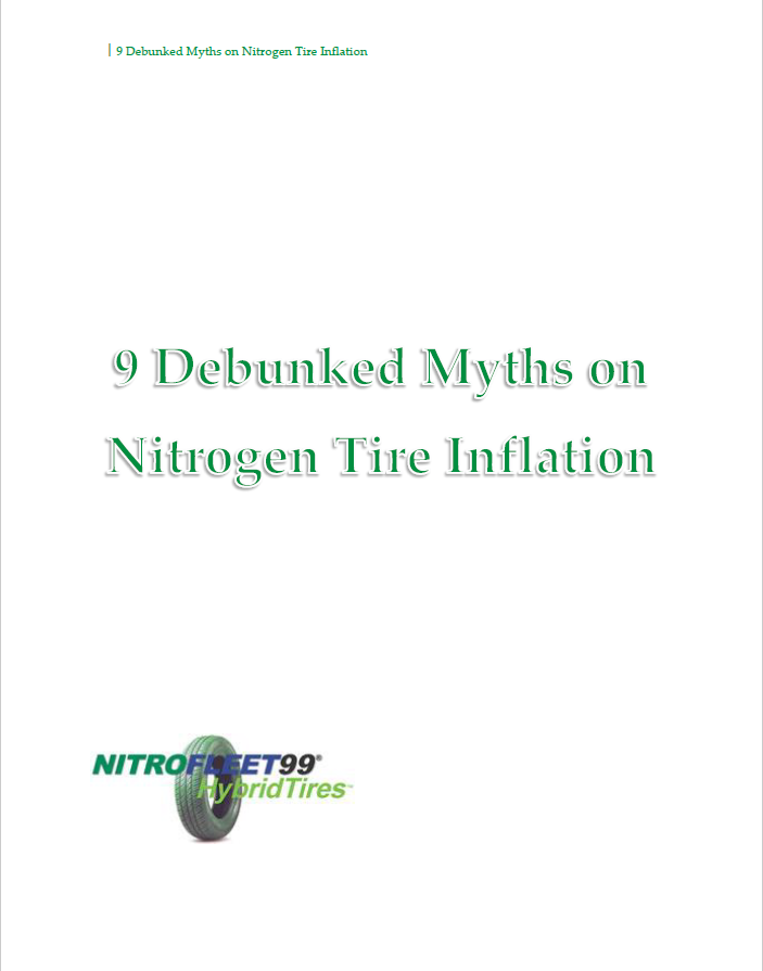 "I wrote the white paper ""9 Debunked Myths on Nitrogen Tire Inflation"" for my client  Nitrofleet99 . The white paper combined nine blog posts about nitrogen tire inflation myths. The goal of the white paper was the educate transportation decision makers about nitrogen tire inflation and some of the common myths found online."