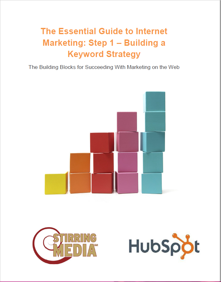 This white paper was a top-of-the-funnel I created to generate leads for my content marketing firm, Stirring Media LLC. I utilized HubSpot's free template and some of their information in the white paper. The white paper helped readers build a keyword strategy for their online marketing efforts.